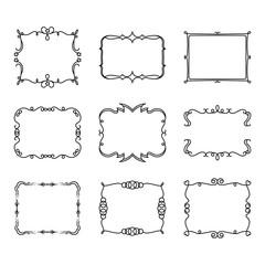 Doodle decorative frame 2