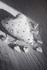 Heart of Valentine.Valentines Day background.