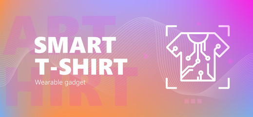 Smart t-shirt wearable emblem