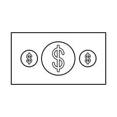 Money bill icon