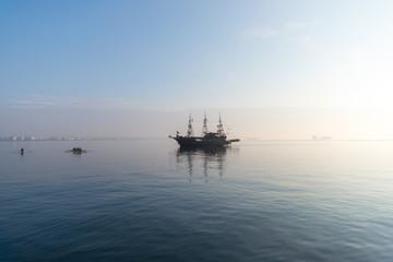 Pirate Ship on the Mediterranean Sea of Thessaloniki
