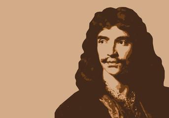 Molière - écrivain - portrait - personnage célèbre - théâtre - littérature - personnage - comédien - livre