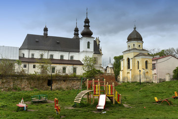 Dominican Monastery in Belz town in Lviv region, Ukraine