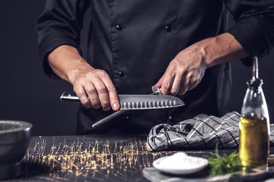 Koch Schleift küchen Messer