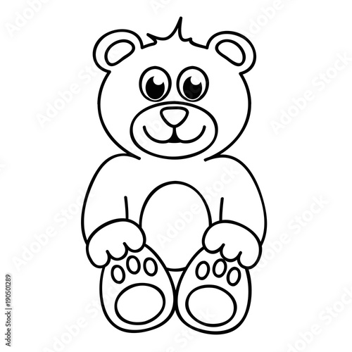 Ausmalbild Teddybär Stockfotos Und Lizenzfreie Vektoren Auf Fotolia