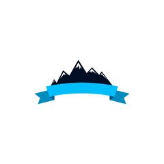 Logo mountain , mountains. The logo for the company associated with mountains