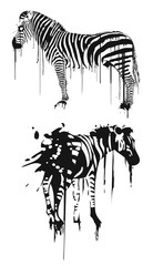 Dripping Zebra
