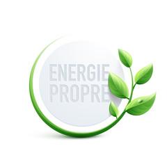 énergie propre logo