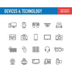 Devices Technology Line Icon