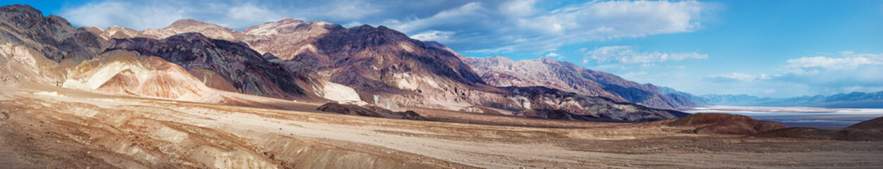 mountain area near Artists Drive in Death Valley National Park. USA.