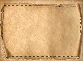 pirates treasure map background 3d illustration