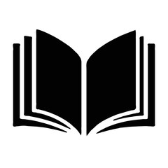 book icon. vector and illustration