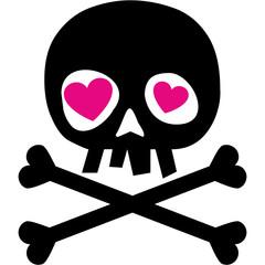 valentines skull with heart, grunge vintage design t shirts