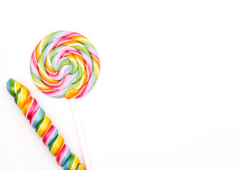 colorful lolli pop