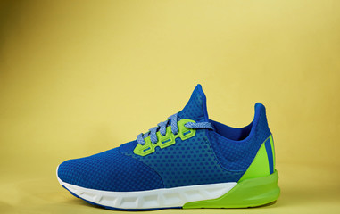 One colorful new sneaker shoe