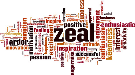 Zeal word cloud