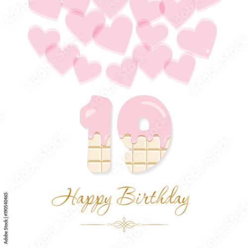 19 birthday numbers