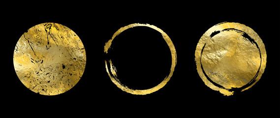 Vector gold frame