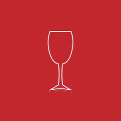 cocktail vector line icon