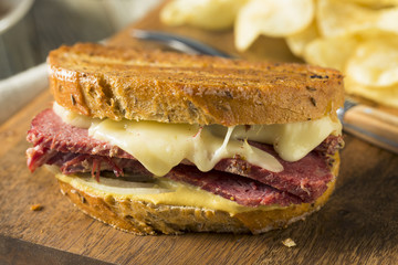 Savory Homemade Corned Beef Reuben Sandwich