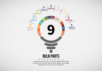 Light Bulb Process Infographic 7