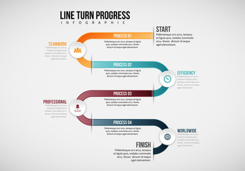 Looped Line Infographic 2