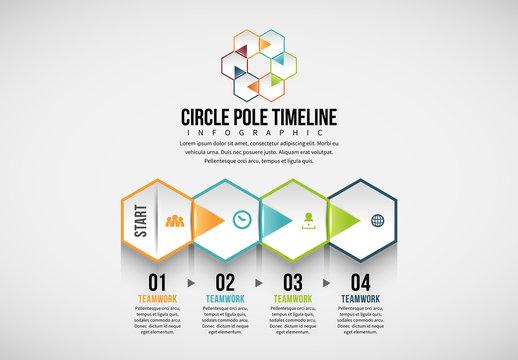 Hexagonal Tile Infographic 5