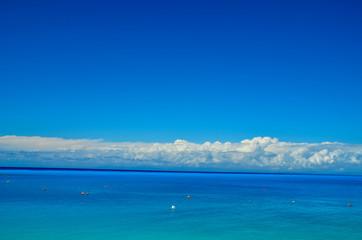 lefkada island greece beach background