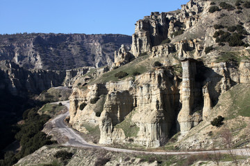 Kuladokya is a geological area in Kula, Manisa, Turkey