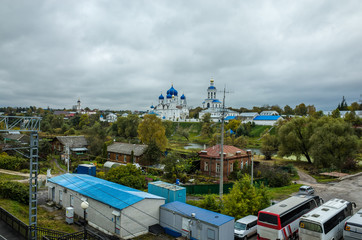 View of the Bogolyubsky Monastery and the suburb of Vladimir, Russia