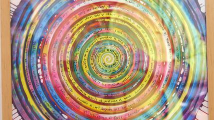 Mandala dipinto a mano