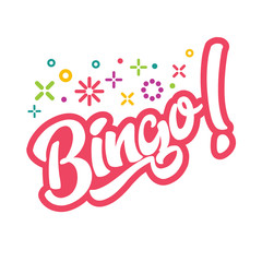 Bingo Game Illustration