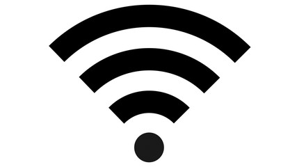 wifi symbol logo black