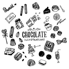 Chocolate Illustration Pack
