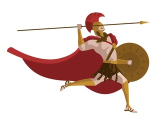spartan powerful warrior