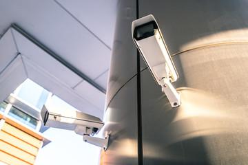 cctv camera in city