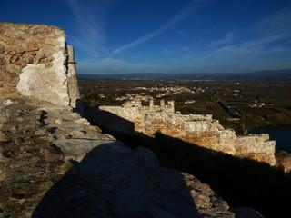 Miravet, localidad de Cataluña, España. en la provincia de Tarragona, en la comarca de Ribera de Ebro