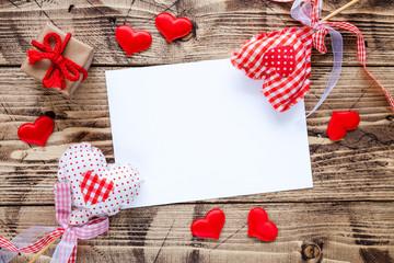 Valentine day concept