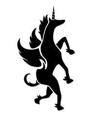 Fantasy horse illustration