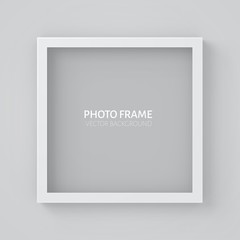 3D picture  square frame design.