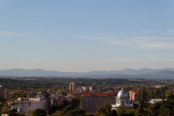 Panoramic view from the royal palace