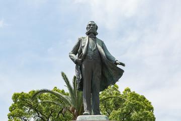 大久保利通 銅像 -明治維新の3傑と言われた人物-