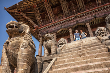 Nyatapola Pagoda, Bhaktapur, Nepal