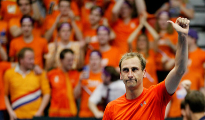 Davis Cup - First Round - France vs Netherlands