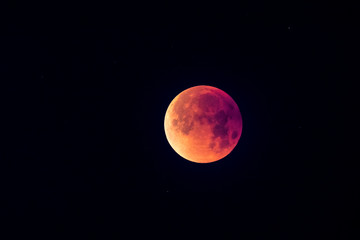 Super Blue Blood Moon Lunar Eclipse