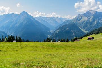 Gebirge in Österreich Mayrhofen in Zillertal