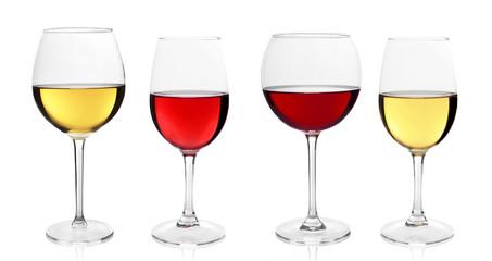 Wine glasses variation
