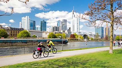 Frankfurt am Main im Frühling, Deutschland