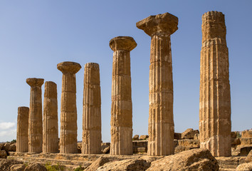 Ercole temple, Agrigento, Italy