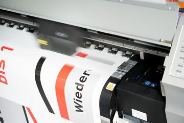 Digitaldrucker bedruckt Plakate